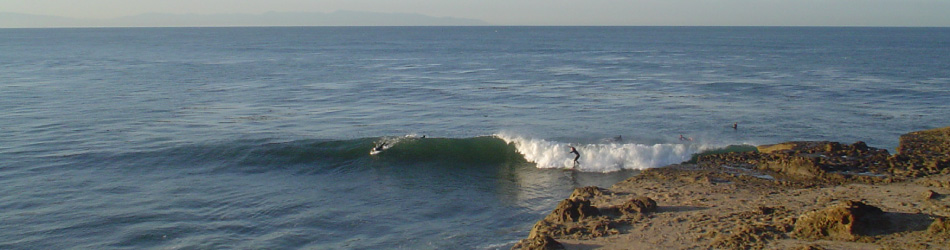 Santa Cruz surfing